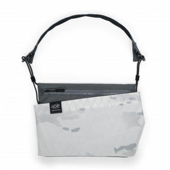 SACOCHE - Ooe Slash Bag-white & Camouflage